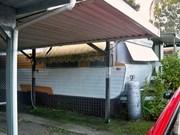 onsite caravan for sale in sought after Gold Coast Caravan Park. River