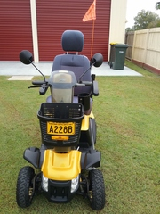 USED PRIDE 140XL PATHFINDER MOBILITY SCOOTER